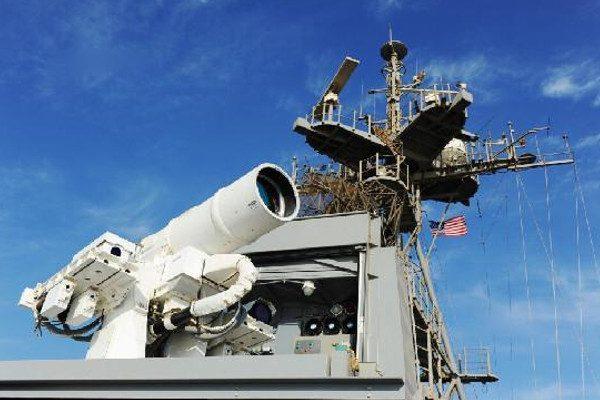 美舰装备世界第一台激光炮 首部署波斯湾