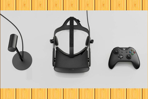 Oculus Rift 和 Oculus Touch套装(图片来源:网路)