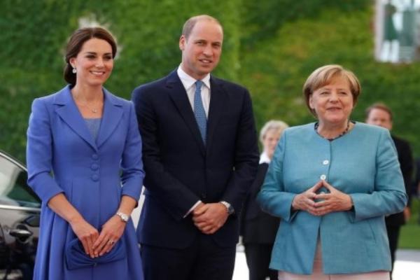 威廉王子:英脱欧后仍将与德保持亲密关系