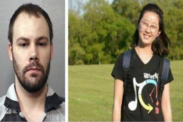 嫌犯克里斯滕森(左)与被害者章莹颖。(网络图片)(右)