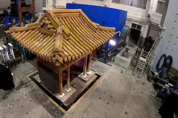 秒杀现代建筑 故宫模型十级地震不倒 英媒震惊