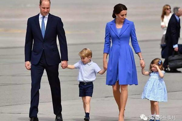 小公主小王子到欧洲转了一大圈,只要一出镜,完全抢掉爹妈的风头