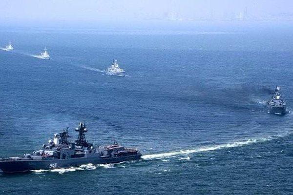 俄中海上示利器 北约警惕真意图