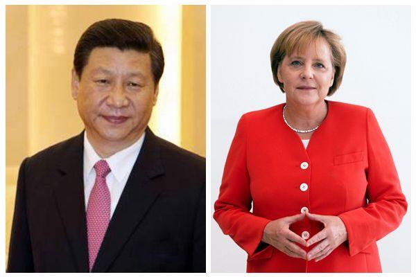 德国总理默克尔将于下周四在北京与习近平会面
