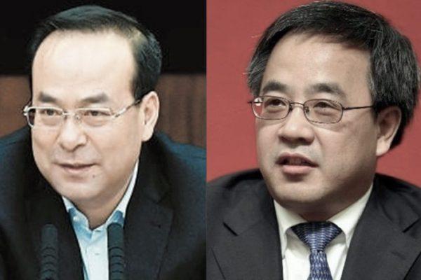 孙政才(左)和胡春华(网络图片)