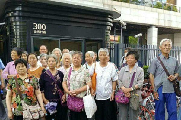上海46万失地农民要求提高待遇