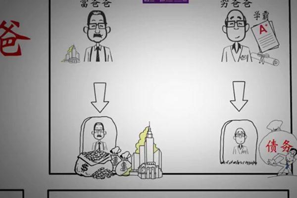 6分钟看懂 《富爸爸穷爸爸》(youtube)