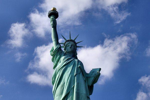 宗教和信仰自由是美国立国之本,图为自由女神像。(Pixabay)