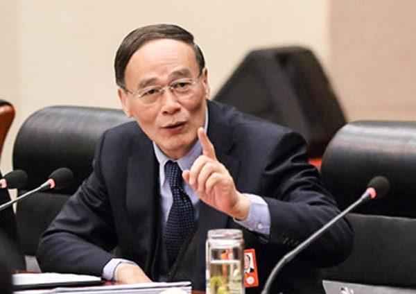 王岐山再被看高一线 英媒:十九大或出任总理