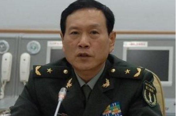 中共火箭军司令员魏凤和
