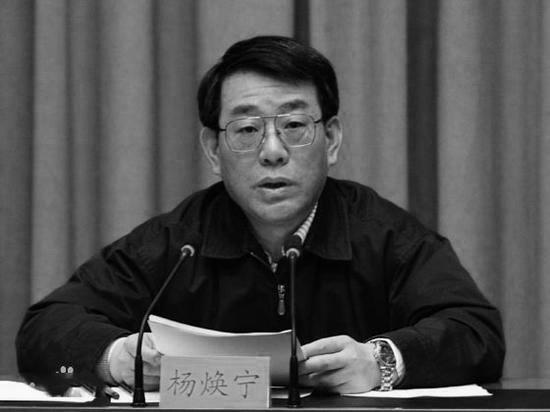 杨焕宁失落十九大代表 或已落马