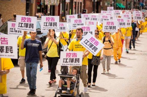 至今已有21万海内外法轮功学员实名控告江泽民