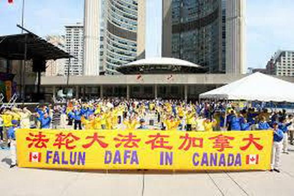 加拿大修炼法轮大法的银行家
