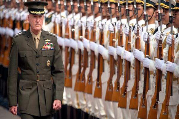 美中军方签署协议加强交流