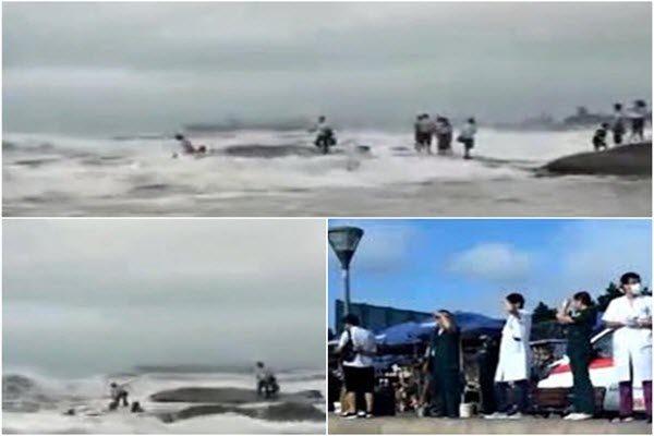 不顧勸阻站礁石拍照 2女山東日照海灘遭海浪捲走溺斃