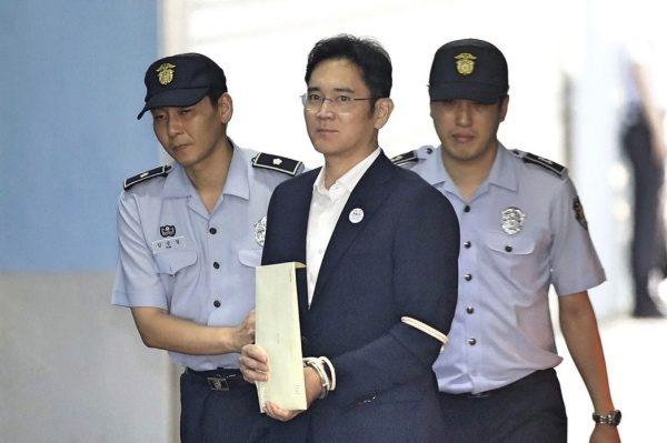 三星律师不满量刑提上诉 李在镕定罪或影响朴槿惠案判决