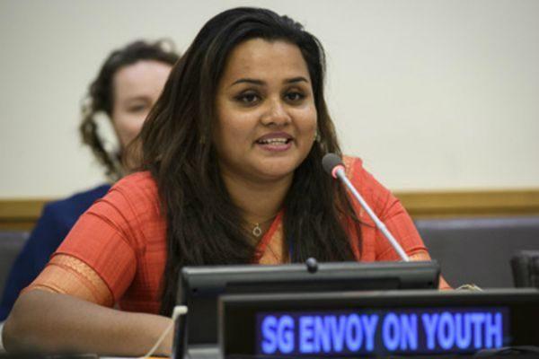 贾亚特玛?维克勒马纳亚克(Jayathma Wickramanayake )联合国新闻资料图片。