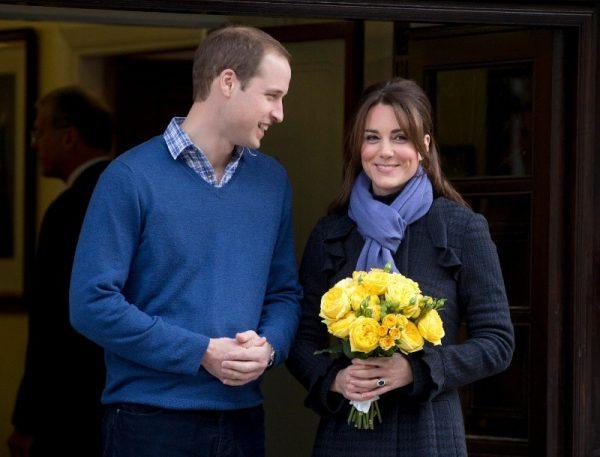 威廉王子和凯特王妃(图片:美联社)