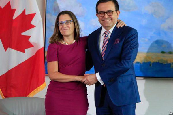 北美自贸协定 美墨加三方决定重新谈判