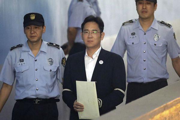 不满李在镕被判5年 韩检方上诉求重判