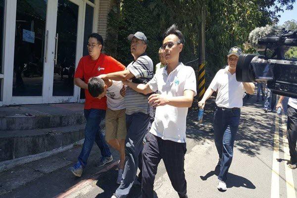 韩籍国际通缉犯赵准基被捕。(网络图片)