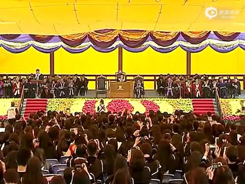 香港中文大学校长演讲:不负此生,不负我心
