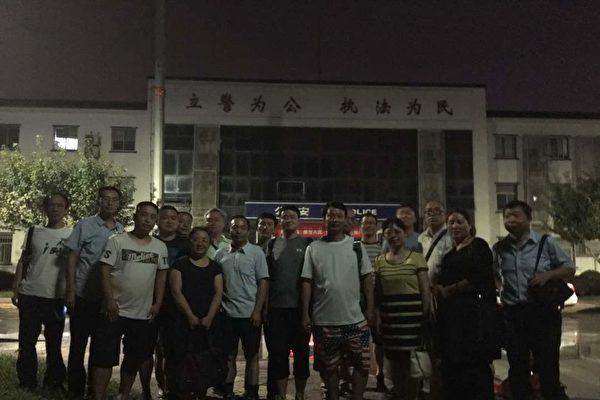 西安30多朋友聚餐遭警方抓捕