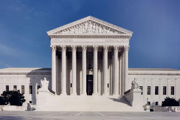 图为美国最高法院(最高法院网站图片)。