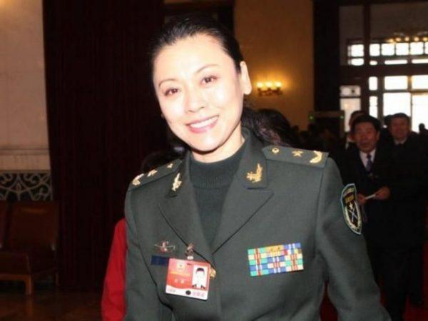 李刚之妻刘敏是中共少将、舞蹈家。(网络图片)