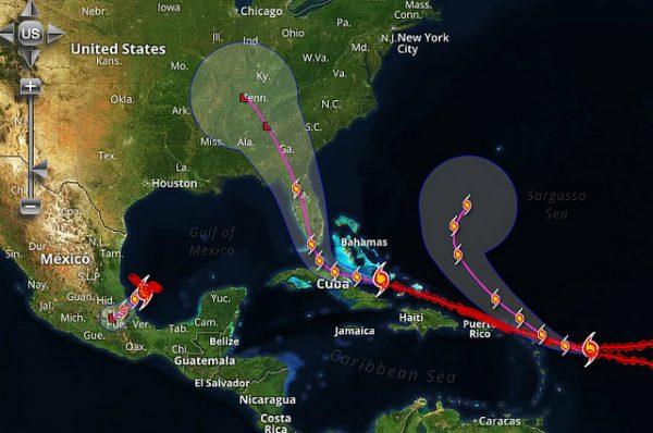 飓风艾玛将登录佛州 居民紧急撤离导致油荒