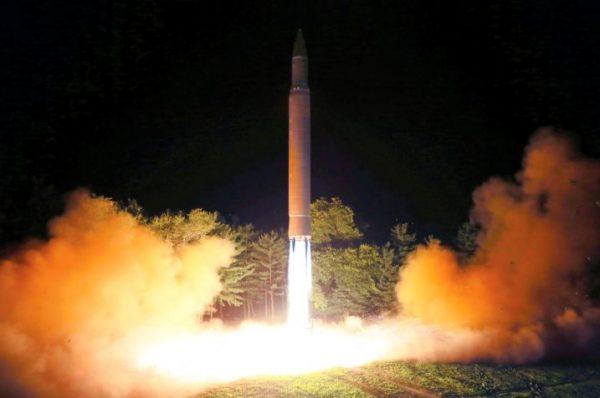 朝鲜7月曾试射洲际弹道导弹(AP)
