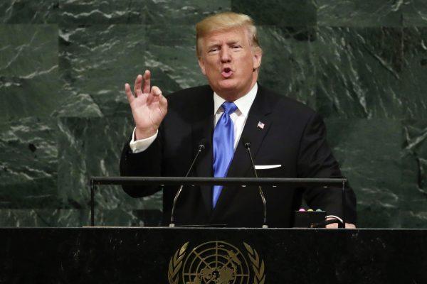 美众议院前议长:川普联大演讲强调主权爱国 再现美领导地位