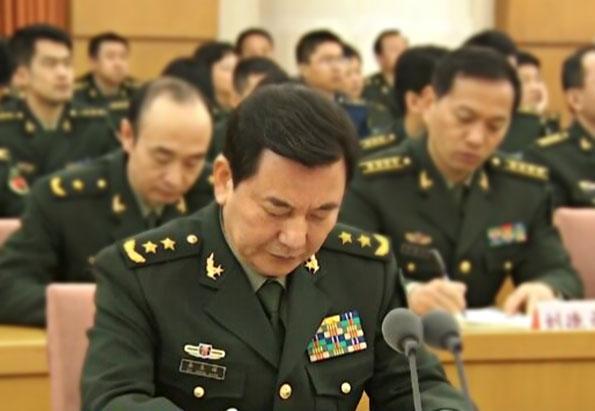 原中共军委办公厅主任秦生祥已出任中共海军政委