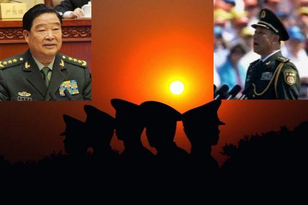 宋普选(右上)可能已接替赵克石(左上)出任中共军委后勤保障部部长(SOH合成)