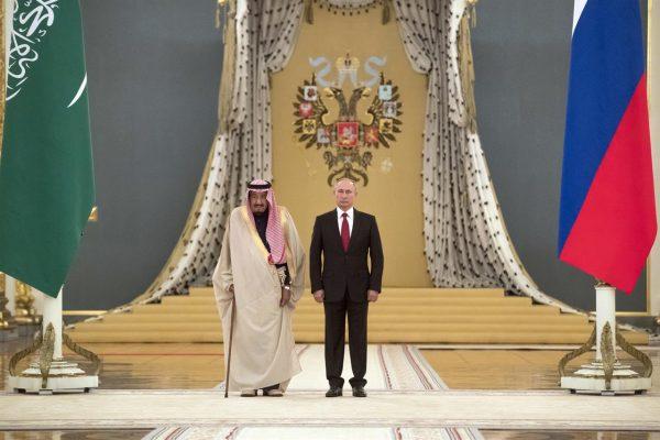 沙特国王历史性访俄 豪掷30亿美金购买导弹