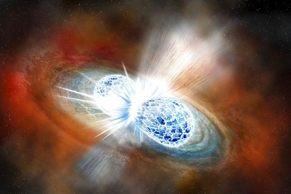 天文重大突破!首次观测到中子星碰撞产生重力波和黄金