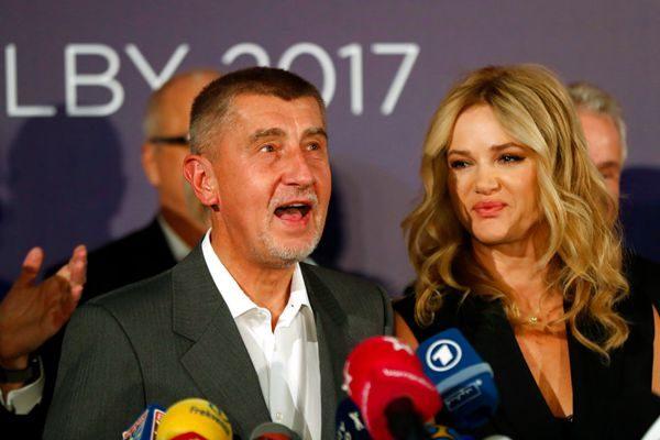 """""""捷克版川普""""成大选赢家 亿万富豪巴比斯将任总理"""