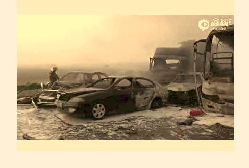 安徽阜阳高速重大车祸18死21伤11重伤