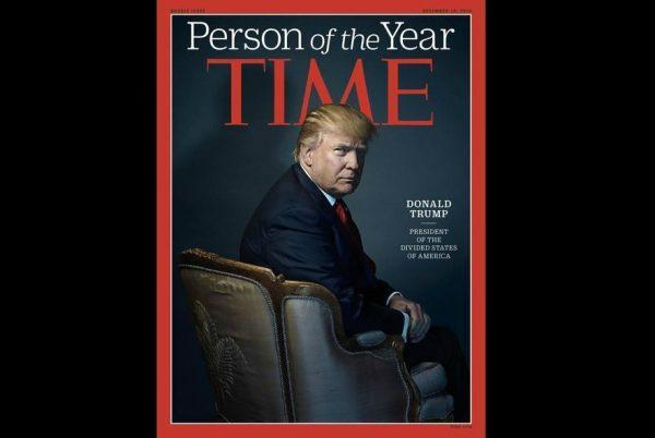川普自爆 拒绝再次参选《时代》年度风云人物