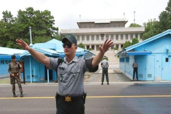 朝鲜士兵勇闯警戒线 身中多枪抢救中