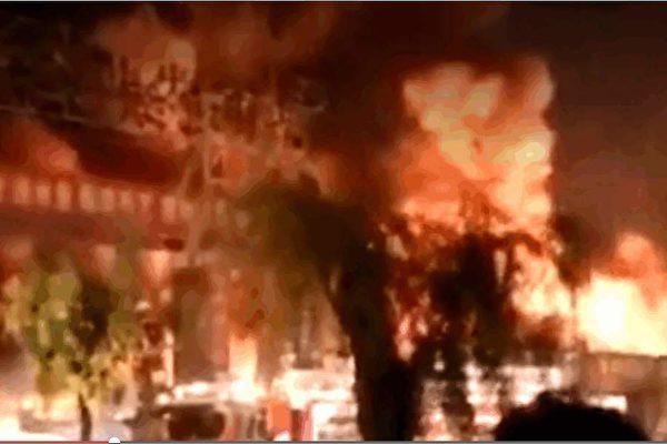北京朝阳区白墙子村火灾5死9伤