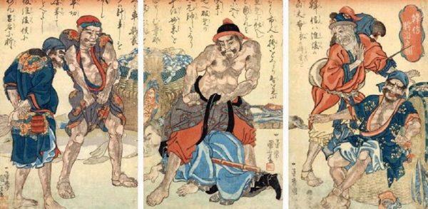 韩信:胯下之辱 (图片来源:维基百科)