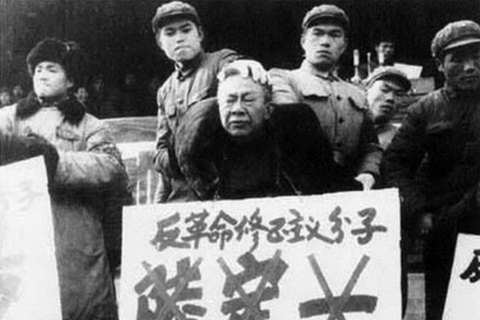 """毛泽东文革中打倒的""""阎王""""陆定一"""
