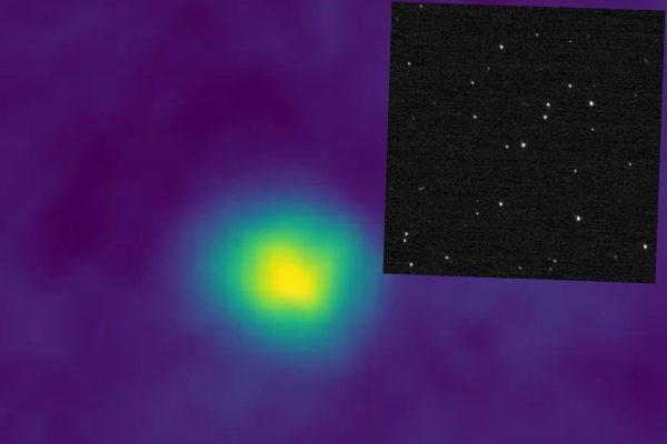 "NASA拍摄到的最远星空图,其中一张被称为""许愿池""(右上)。(NASA/JHUAPL/SwRI)"