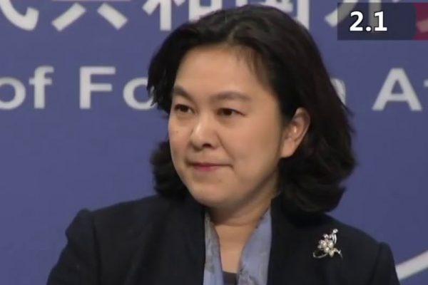网传中共外交部发言人华春莹被捕 官方回应