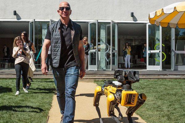 Amazon創始人傑夫·貝佐斯(圖片來源:推特Twitter)