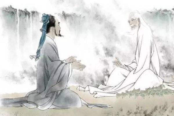 老子和孔子的对话,流传百世的千古智慧!(图片来源 网络)