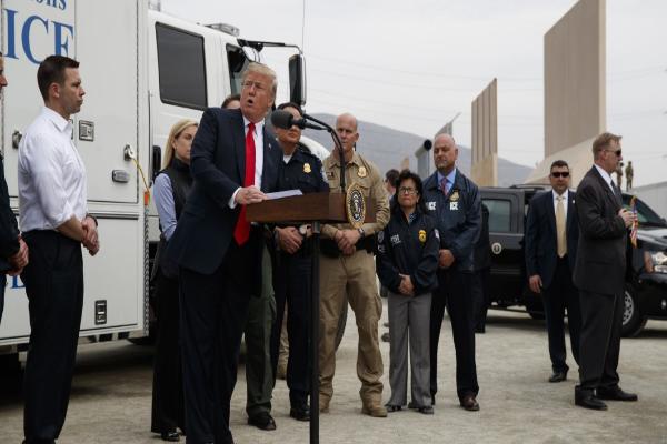 全美40州380位郡治安官联名致信国会 要求拨款修建美墨界墙