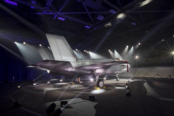 韩国首架F-35A德州出厂 对朝威慑添翼