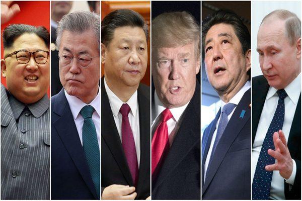 朝鲜金正恩6月或晤日本安倍六方会谈首脑全齐 和川普难有互信